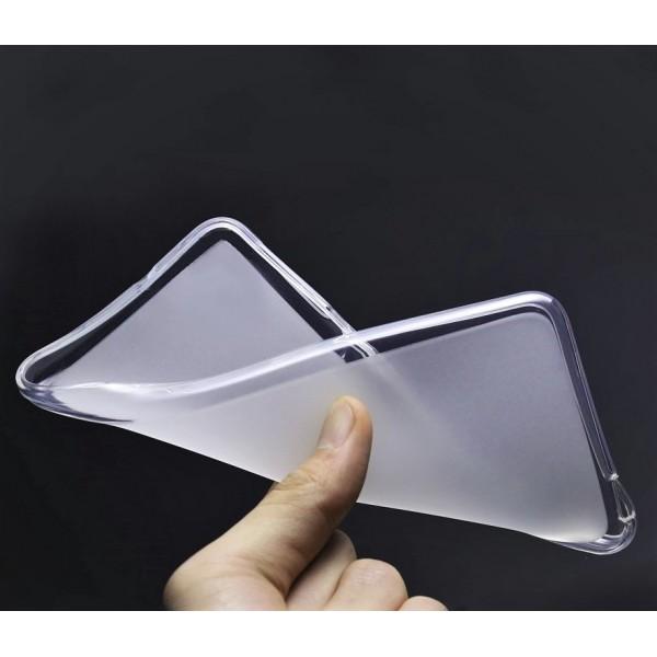 Husa de Silicon Soft TPU Culoare Mata. ALB Allview V1 Viper S4G