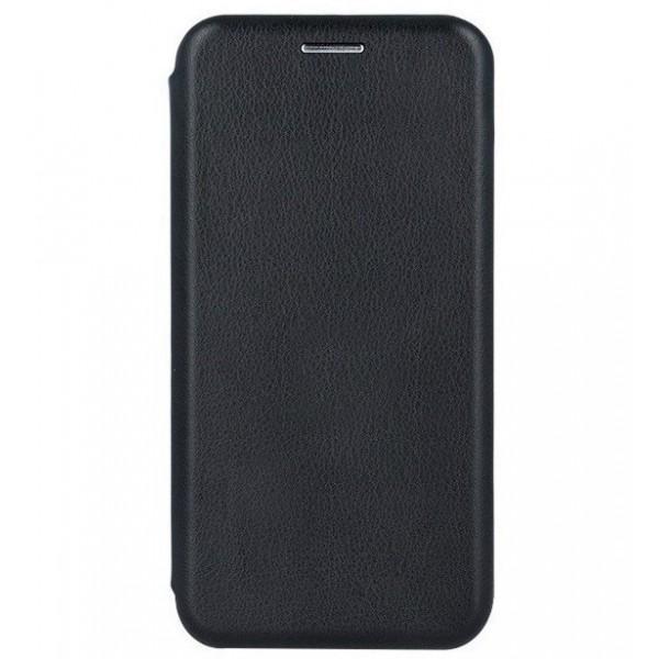 Husa Flip Book Premium Diva, Inchidere Magnetica NEGRU. iPhone 12 Mini