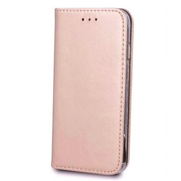 Husa Flip Book Premium Inchidere Magnetica ROSE-AURIU. Xiaomi Redmi Note 10 5G