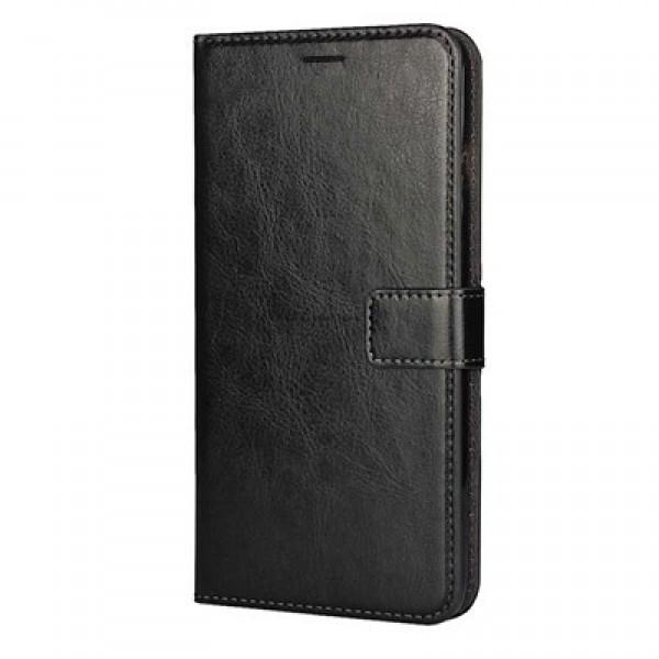 Husa Flip Wallet, Carte tip Port Card. NEGRU Xiaomi Mi Max 2