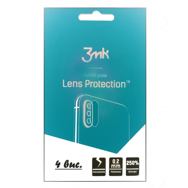 Folie 3MK Flexible/Glass Set 4 Bucati Protectie Camera. Xiaomi Poco X3 NFC