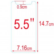 Folie de Sticla Universala 5.5 inch