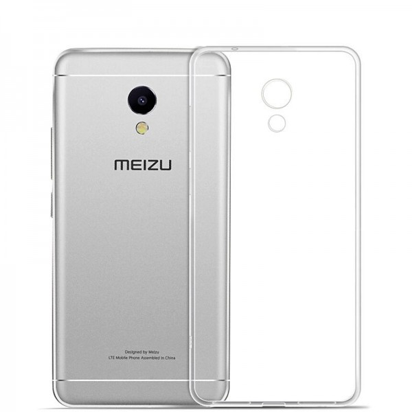 Husa de Silicon Slim TPU Meizu M3e
