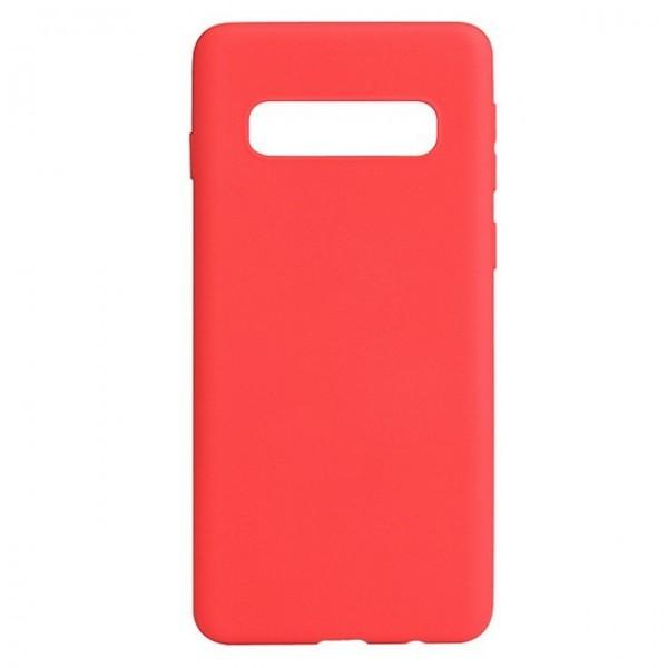 Husa de Silicon Ultra Thin Soft TPU Culoare Mata. ROSU Samsung S10 Plus