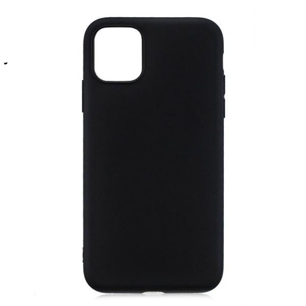 Husa de Silicon Ultra Thin Soft TPU Culoare Mata. NEGRU iPhone 11 Pro Max