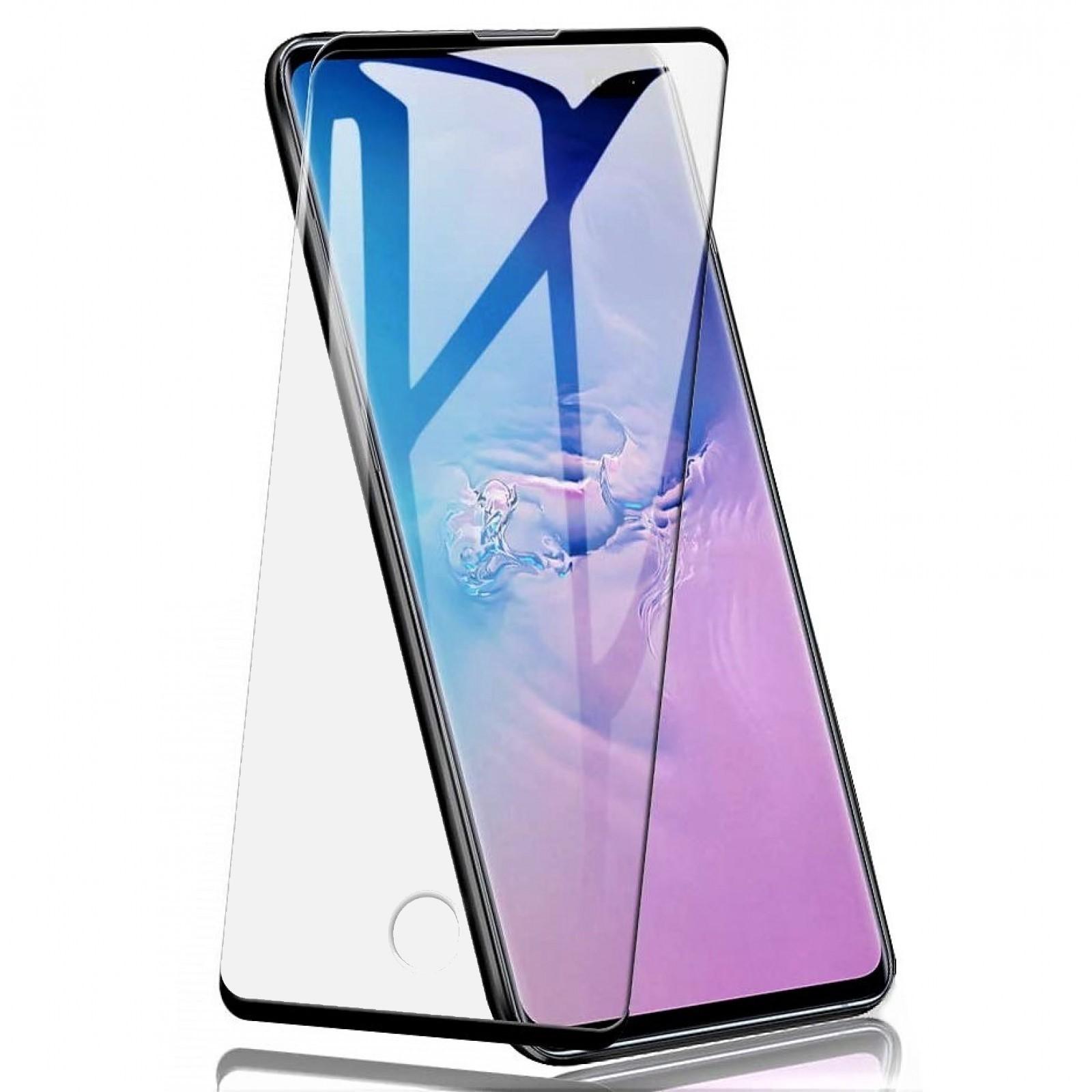 Folie de Sticla Tempered Glass Case Friendly 3D Curbata NEGRU Samsung S10 5G