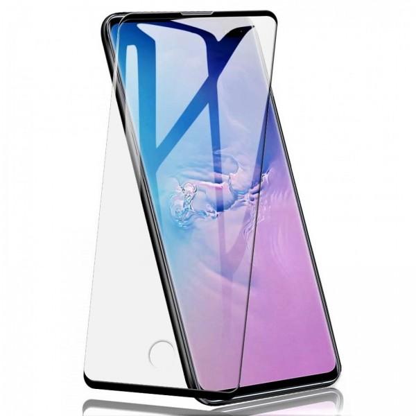 Folie de Sticla Tempered Glass Case Friendly 3D Curbata NEGRU Samsung Galaxy Note 10