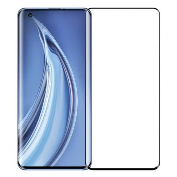 Folie de Sticla Tempered Glass Full Glue Case Friendly Curbata. NEGRU Xiaomi Mi 10S