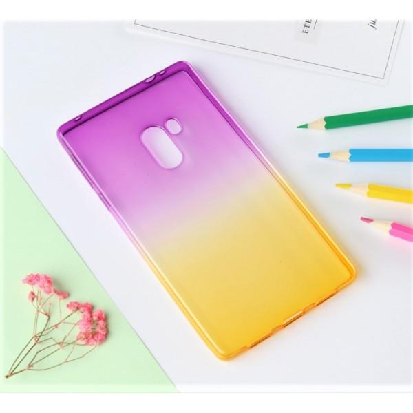 Husa de Silicon Slim TPU Gradient Color. MOV-GALBEN Xiaomi Mi Mix