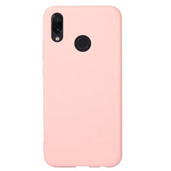 Husa de Silicon Ultra Thin Soft TPU Culoare Mata. ROZ Xiaomi Redmi 7