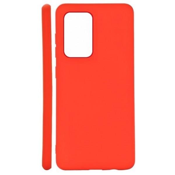 Husa de Silicon Ultra Thin Soft TPU Culoare Mata. ROSU Xiaomi Redmi Note 10 Pro